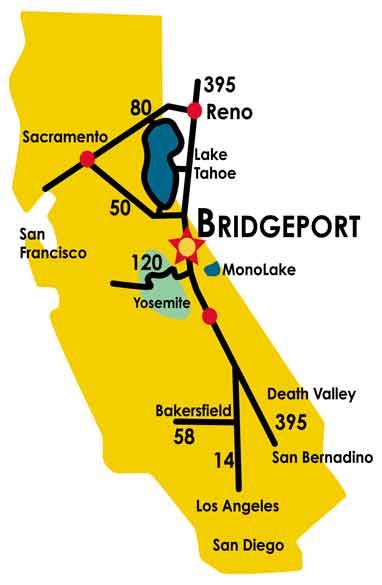 Bridgeport CA Bridgeport California Motel Eastern Sierra